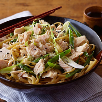 Tuna With Sesame Noodles 440X340