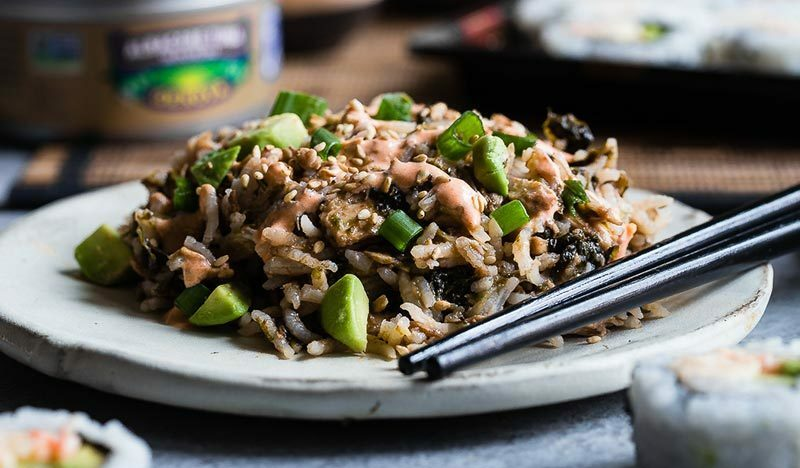 Spicy Tuna Rice Casserole