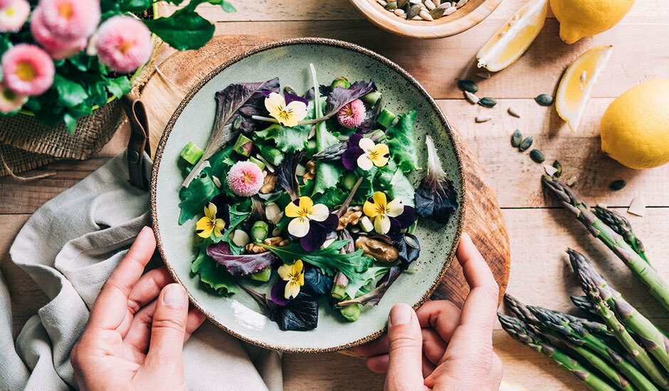 May Flowers: How to Cook with Edible Flowers This Spring